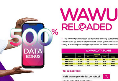 Ntel 500% Wawu Data Reloaded - Scam or Real?